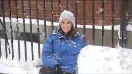 Giant Snowflakes Hit New Hampshire