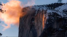 Spectators Flock to Yosemite National Park for Annual 'Firefall'