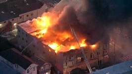 3 Dead, 1 Missing in Oakland Transitional Housing Fire