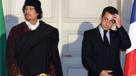 Ex-French President Detained in Gadhafi Financing Scandal