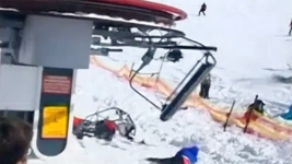 Video Shows Skiers Being Thrown From Malfunctioning Lift