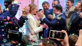Comic Zelenskiy Wins Ukraine Presidential Vote in Landslide