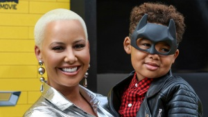 Amber Rose Snaps Back at Trolls Who Called Her Son 'Gay'