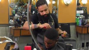 Brockton Barber Incorporates Art Into Hairstyling