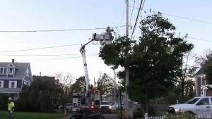 Fallen Branches and No Power Keeps Utility Crews Busy