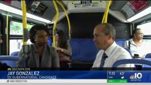 Gonzalez, Pressley Talk Transportation on MBTA