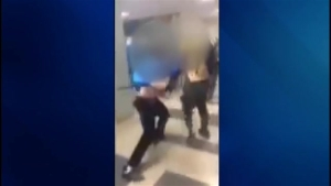 RAW VIDEO: Altercation at Townsend, Mass., High School