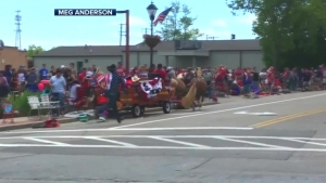 Ponies Run Amok at Wisc. Memorial Day Parade