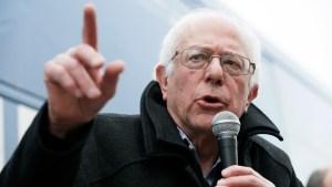 Sen. Bernie Sanders Speaks in New Hampshire