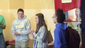 Scholarship Surprise in East Boston