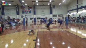 Incredible High School Volleyball Play Goes Viral