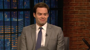 'Late Night': Bill Hader on Playing a Hit Man/Wannabe Actor