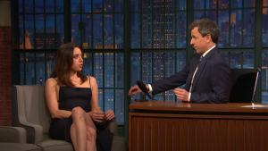 'Late Night': How Aubrey Plaza Prepped for 'Legion'