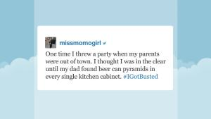 'Tonight': Hashtag #IGotBusted