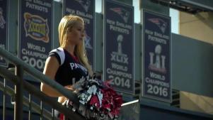 Patriots Cheerleader Shares Cancer Survival Story