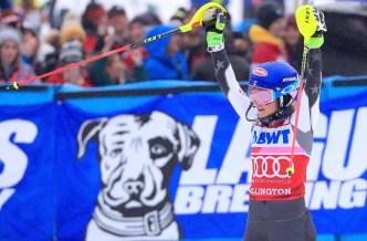 Shiffrin Wins Another World Cup Slalom in Killington, Vt.