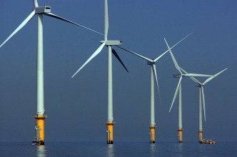 Construction at Nation's First Offshore Wind Farm Begins