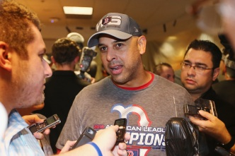 WATCH: Red Sox Players Sing 'Happy Birthday' to Alex Cora