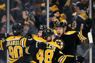 Bruins Knock Off Blue Jackets in Overtime