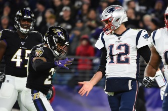 Patriots Stumble in Baltimore for First Loss of Season