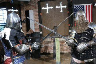 Modern Medieval Fighting With the Armored Combat League