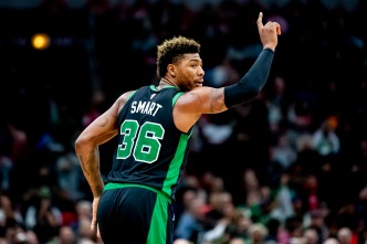 Celtics' Marcus Smart Out 4-6 Weeks With Oblique Injury