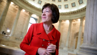 Tax Protesters at Collins' Office Charged With Trespassing