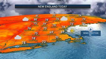 Cooler Weather Today, Monday