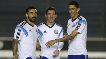 Argentina Fans Dream About World Cup Trophy