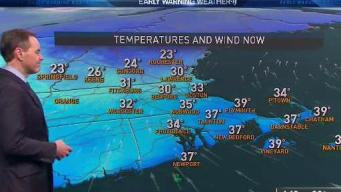 Cold, Clear Tonight Ahead of Another Storm