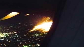 AA Flight Lands Safely After Flames Visible from Engine: FAA