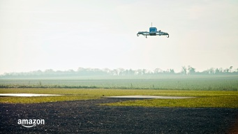 1 Small Delivery for a Man, 1 Giant Leap for Amazon, Drones