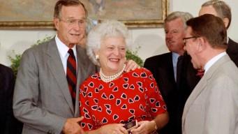 Jeb Bush to Eulogize Mother, Barbara, in Private Service