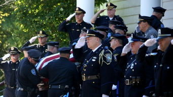 'My Hero': Thousands Gather for Funeral of Slain Police Sgt.