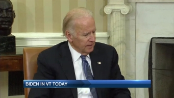 Vice President Joe Biden Visits Vermont, Promotes Task Force