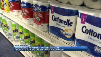 Stores Asked Not to Sell Certain Items Used For Vandalism