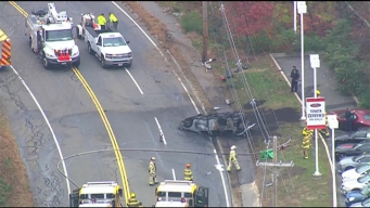 Major Accident in Milford, Mass.