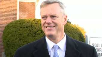Republican Baker Says 10 Dem Mayors Back His Re-Election