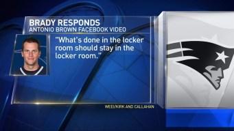 Brady Responds to Steelers Facebook Live Video