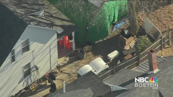 Investigators Search Home in Connection to Cold Case