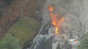 2-Alarm Fire Breaks Out in Needham, Massachusetts