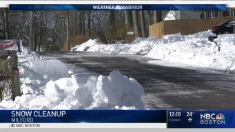 Update on Roads With the Weather Warrior in Milford, Mass.