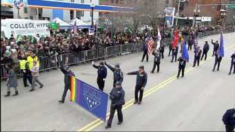 OutVets Marches in Boston St. Patrick's Day Parade