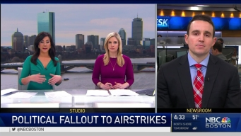 BC Political Science Professor Discusses Syrian Air Strike