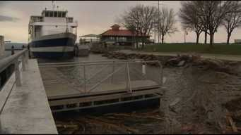 Minor Flooding From Lake Champlain's High Water Level