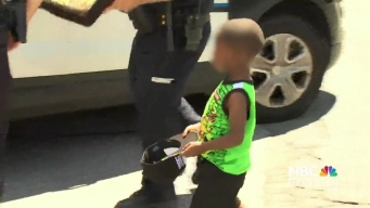 EXCLUSIVE VIDEO: Police Arrest Father, Child Unharmed