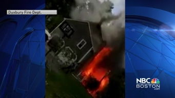 Fire Breaks Out at Home in Duxbury, Massachusetts