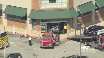 Pickup Truck Crashes Into Building in Wilmington