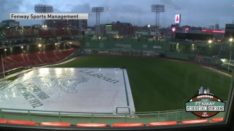 TIME LAPSE: Fenway Park Transforms Into Football Field