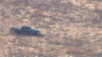 Man in Pickup Truck Leads Police on Lengthy Chase